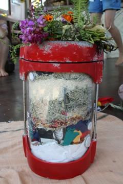 Earth Treasure Vase underwater camera housing