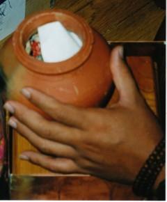 vase filling
