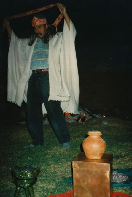 Oaxaca Earth Treasure Vase Ceremony