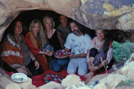 Earth Treasure Vase ceremony in Vijali's cave in Utah