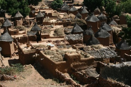 The town of Djenne is made entirely of mud